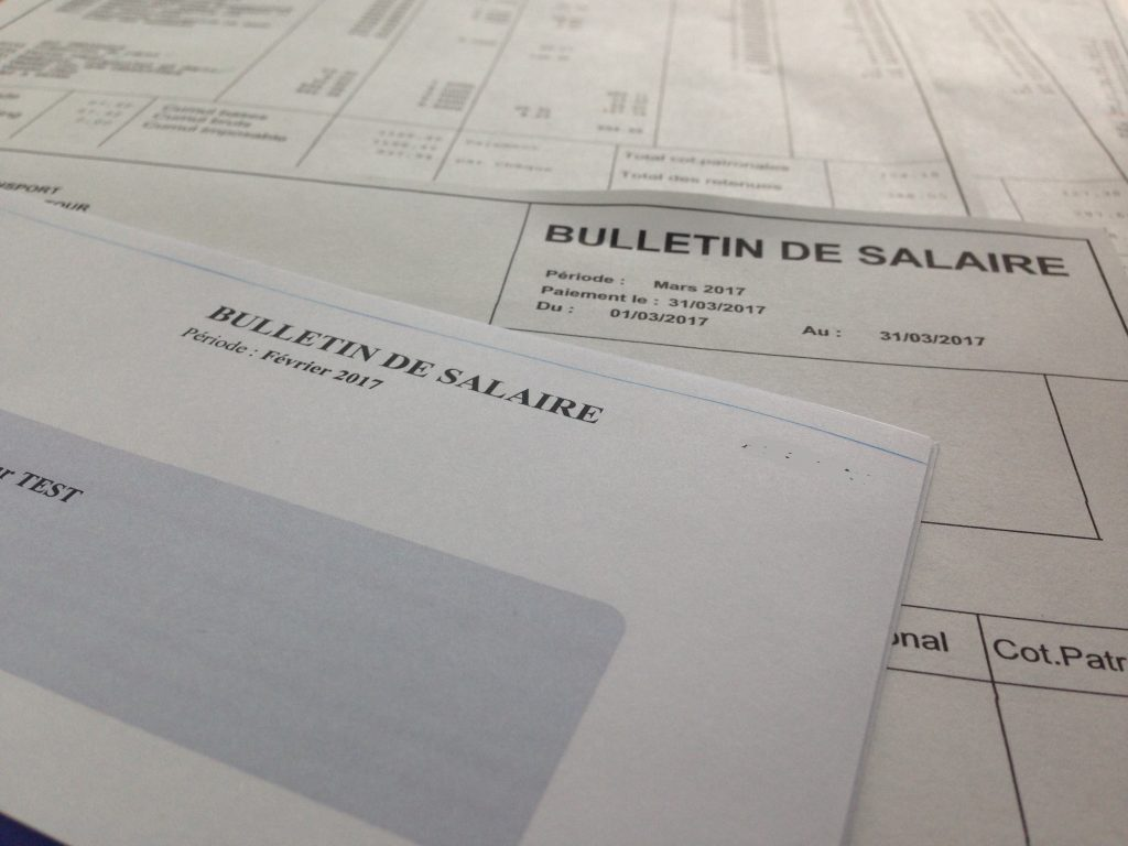 bulletins de paies