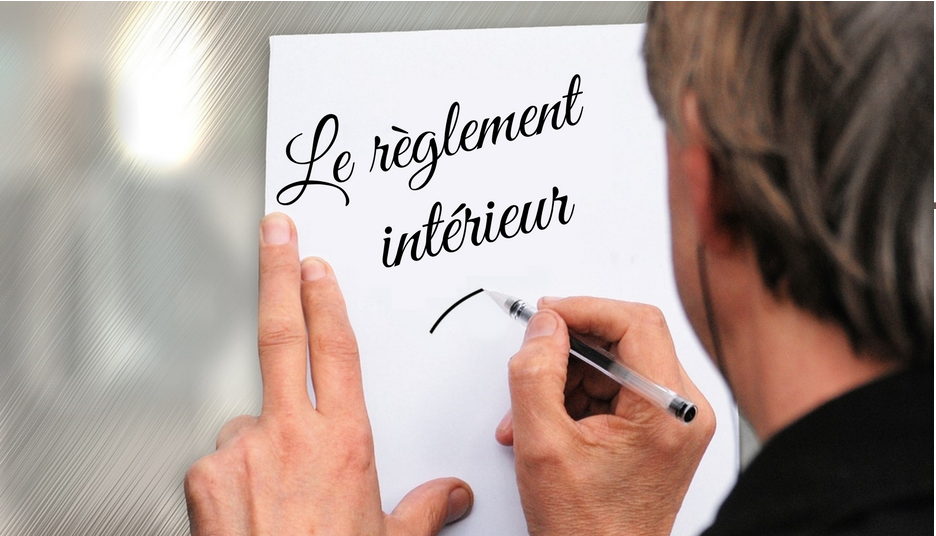 Le r glement int rieur for Reglement interieur ce